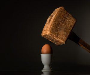 Stell dir vor, dein Selbstwert wäre dieses Ei. :o