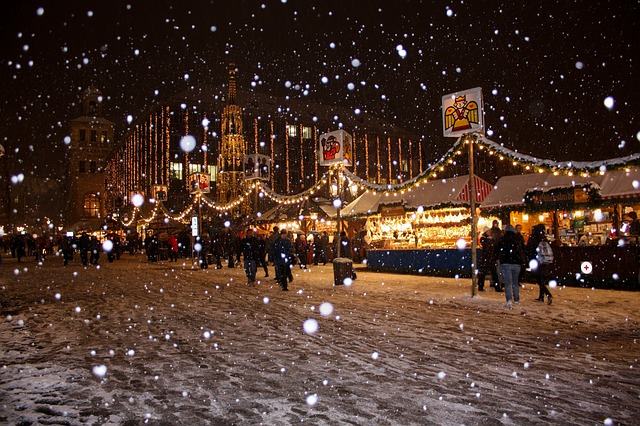 Weihnachtszeit Christkindlmarkt