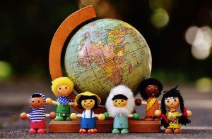 Schaffen wir eine bunte Welt des Miteinanders!