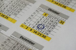 Termin im Terminkalender