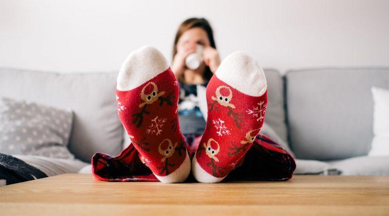 Weihnachszeit Socken
