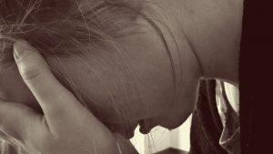 Mädchen Verzweifelt