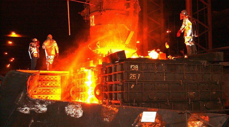 Arbeitszeit Stahlarbeiter