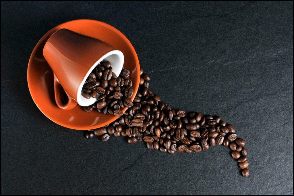Kaffee ausgeleert - Gewohnheitsfasten