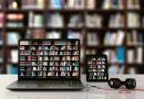 Laptop Bibliothek